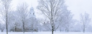 Middlebury in snow