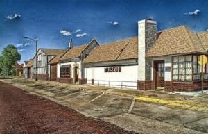 Pratt County Kansas Historical Museum photo by Stan Reimer
