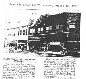 Pratt Daily Tribune 8-10-1933