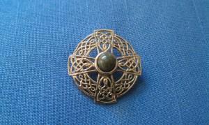 My grandmother's Celtic cross pin
