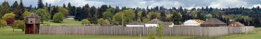 Reconstructed Fort Vancouver