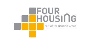 image of the four housing logo