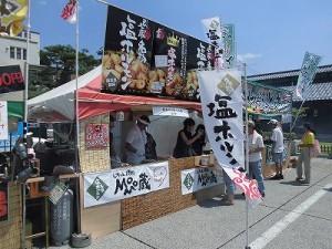 第五陣越前おおのとんちゃん祭のスタッフをしました。 あぶり焼き もも蔵 福井店/どこまでもアマチュア