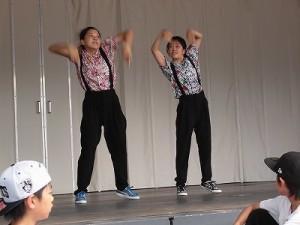 第五陣越前おおのとんちゃん祭のスタッフをしました。「IMPROVE」のカッコいいダンス /どこまでもアマチュア