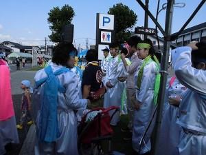 第五陣越前おおのとんちゃん祭のスタッフをしました。 準備OKの遊あんど逢メンバー/どこまでもアマチュア