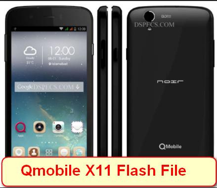 Qmobile X11 Flash File