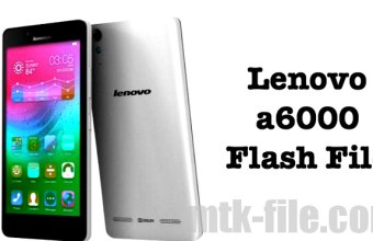 Lenovo A6000 Firmware Flash File (100% Working) Download