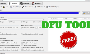 DFU Flash Tool Download Latest version