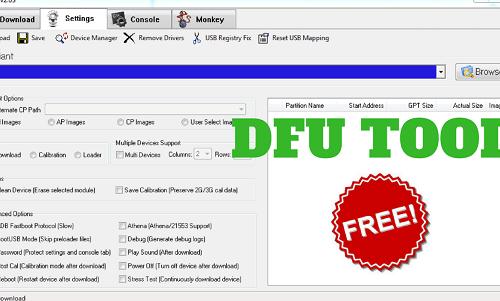 DFU Flash Tool Download Latest version