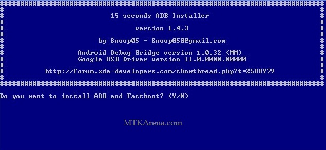 Download 15 Seconds ADB Installer latest version