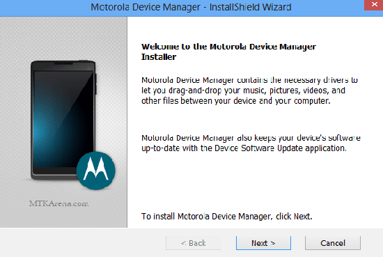Download Motorola Device Manager latest version