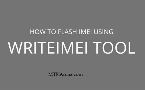 WriteIMEI Tool Download