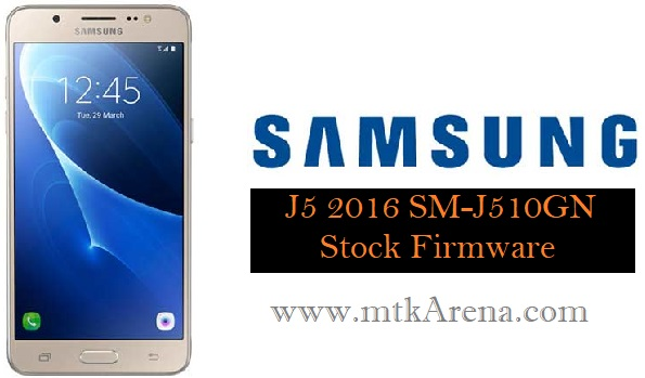 Samsung Galaxy J5 2016 SM-J510GN Stock Firmware Download