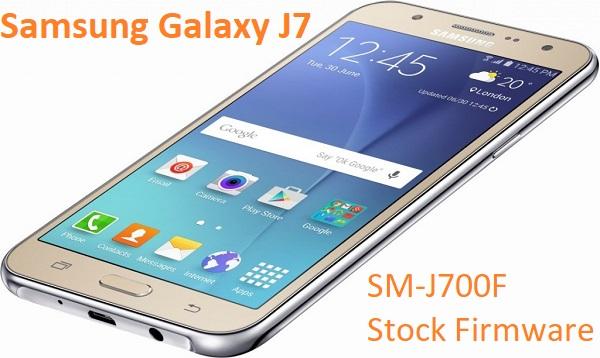 Samsung Galaxy J7 SM-J700F Stock Firmware