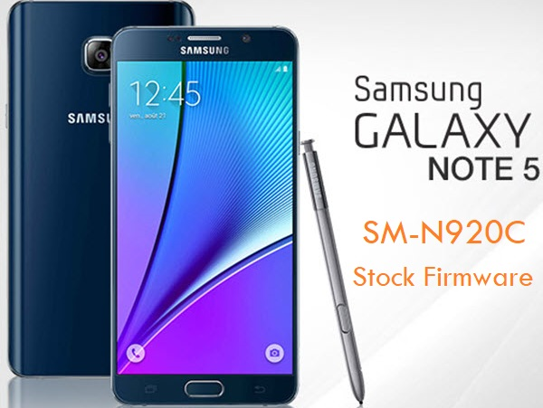 Samsung Galaxy Note 5 SM-N920C Stock Firmware Download