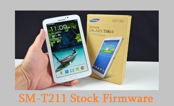 Samsung Galaxy Tab 3 7.0 SM-T211 Stock Firmware