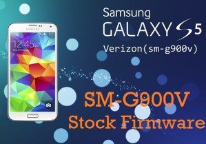 Download Samsung Galaxy S5 SM-G900V Stock Firmware
