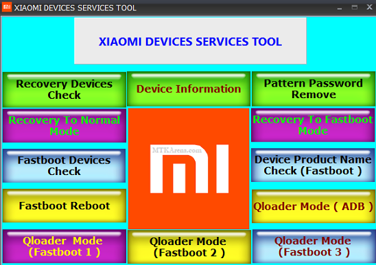 Xiaomi MI Device Service Tool Free Download (Tested)