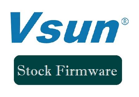 VSUN Firmware download