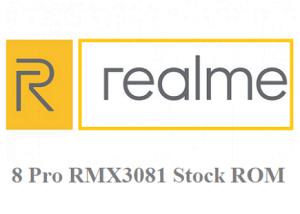 Realme 8 Pro RMX3081 Stock firmware download