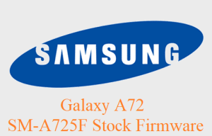 Samsung Galaxy A72 SM-A725F Stock Firmware