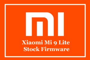 Xiaomi Mi 9 Lite Stock Firmware