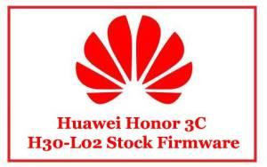 Huawei Honor 3C H30-L02 Stock Firmware