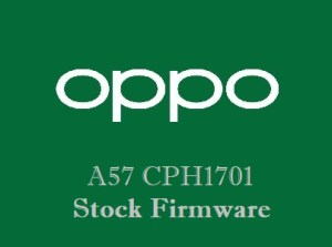 Oppo A57 CPH1701 Stock Firmware Download