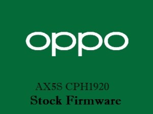 Oppo AX5S CPH1920 Stock Firmware Download