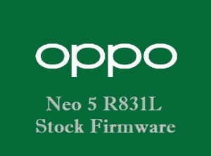 Oppo Neo 5 R831L Stock Firmware Download