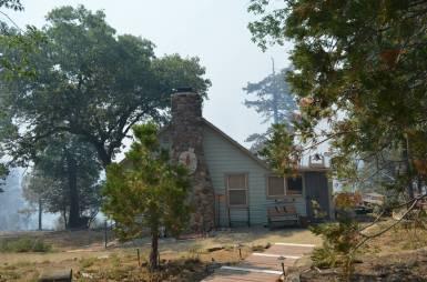 Sierra Club Cabin before.