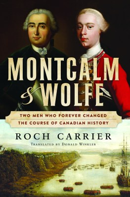 Montcalm and Wolfe, by Roch Carrier