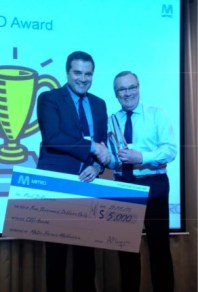 $5000 cheque to one manager as a CEO award