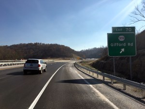 Mountain Parkway Expansion opens interchange