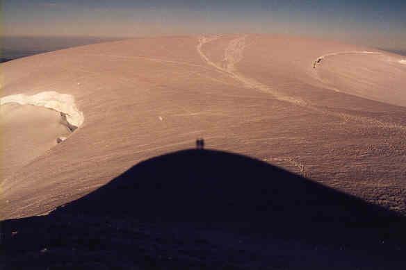 Summit Sunset Silhouette, Mt. Baker