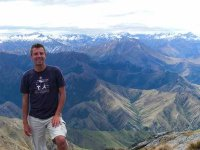 Christophe Pelet, Blogger extrodinaire in NZ's S.Alps
