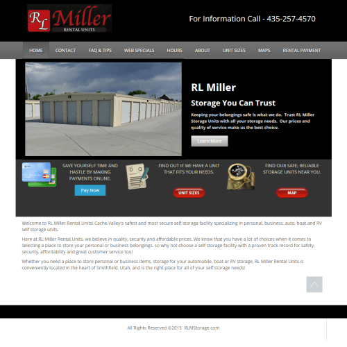 RL Miller Storage, Smithfield, UT