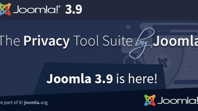 Joomla! 3.9 Released