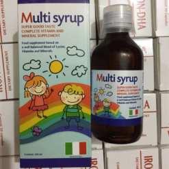 Multi siro bổ sung vitamin và khoáng chất giúp bé ăn ngon