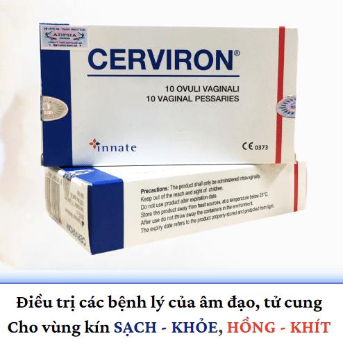 viên đặt Cerviron nhập khẩu Italia
