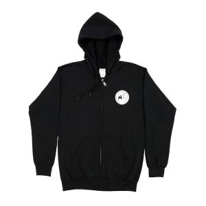 Zipper Hoodie Front