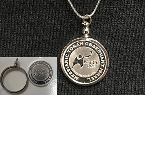 coin with bezel