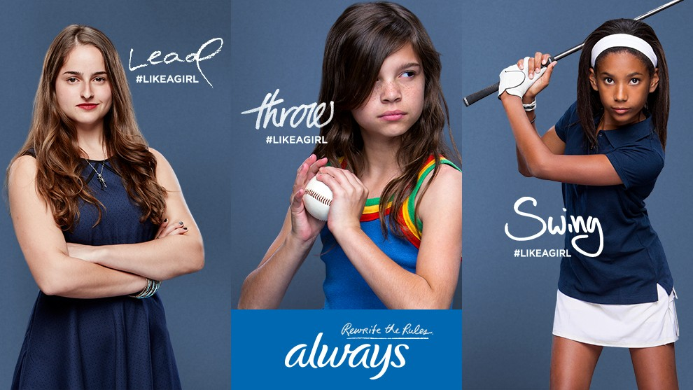 Proctor & Gamble's Always brand video ad