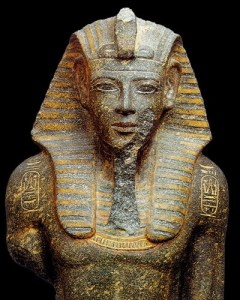 Pharaoh Merneptah, son of Rameses II