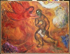 The Prophet Isaiah, by Marc Chagall
