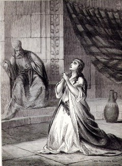 Channah in the Child's Bible 1884