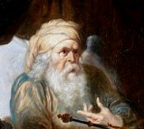 King David from a 17th century Flemish painting