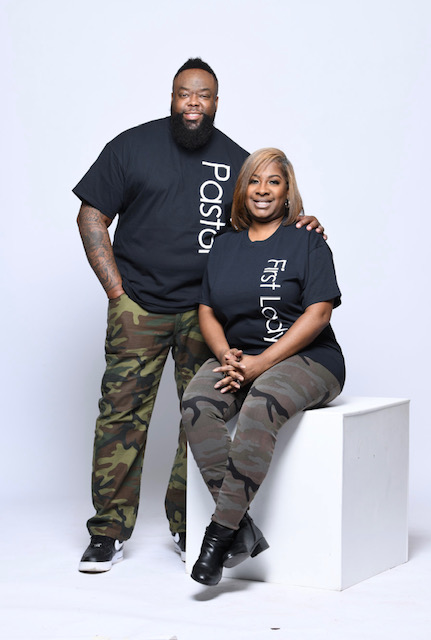 Pastor and First Lady Simmons