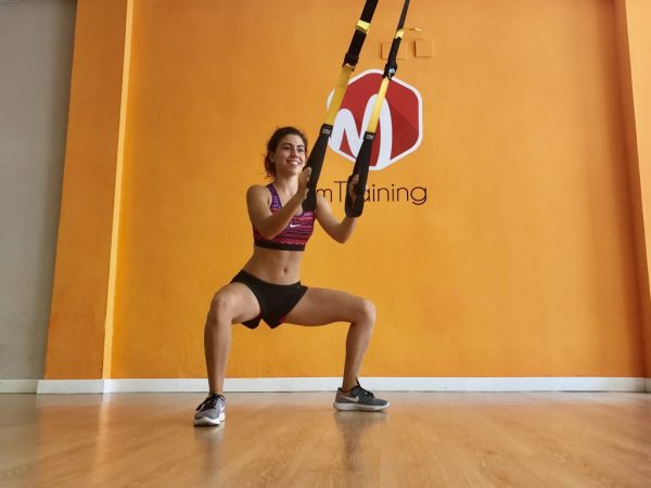 TRX mtraining power squat