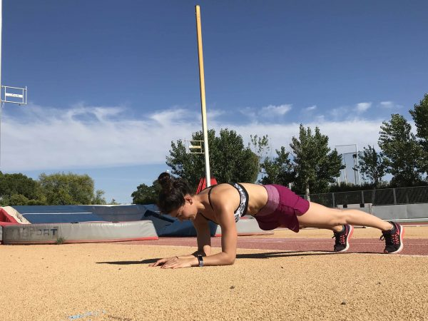 Plancha frontal core mtraining